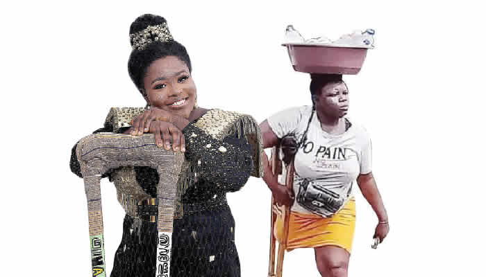 Lagos amputee hawker set to open supermarket as she turns 27