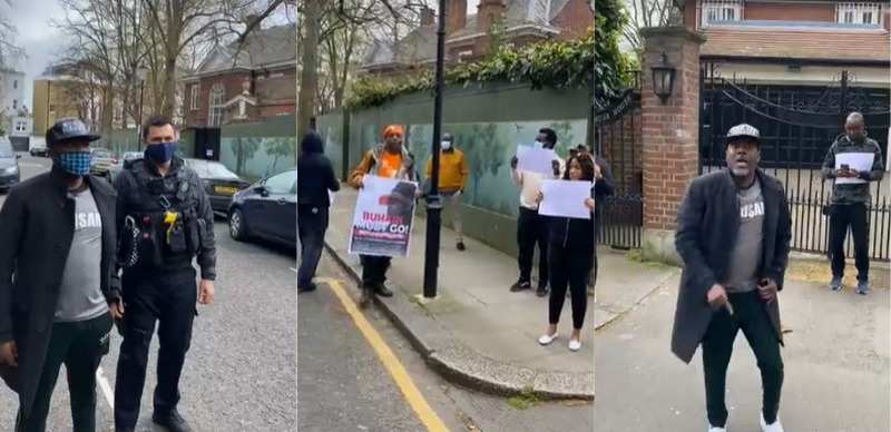 Reno reveals why Nigerians protested against Buhari's medical trip in London