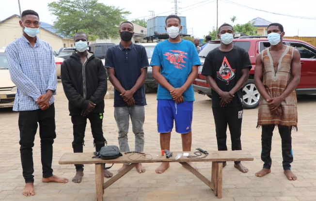 FCT Police nab 17 suspected cultists, recover various exhibits
