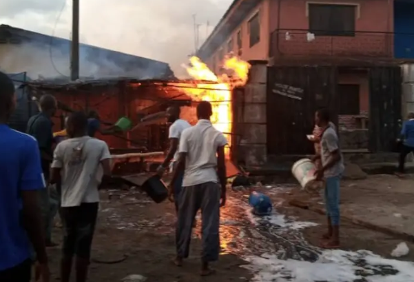 JUST IN: Many injured as gas explosion rocks Amuwo-Odofin, Lagos