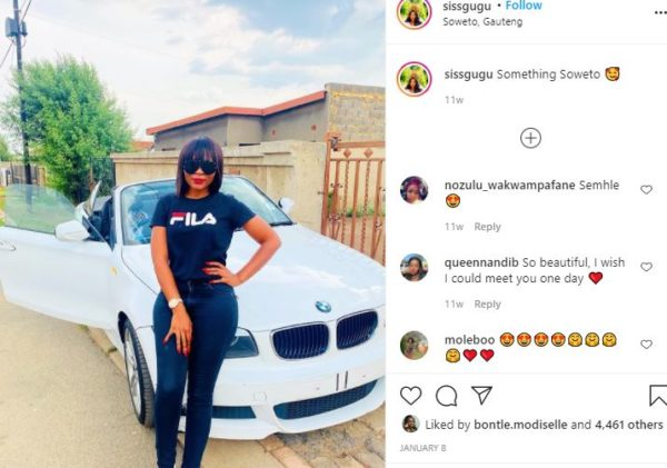 Traditional healer, Siss Gugu buys herself a new Ranger Rover