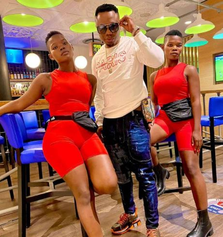 DJ Tira spotted with the Qwabe Twins – Photos
