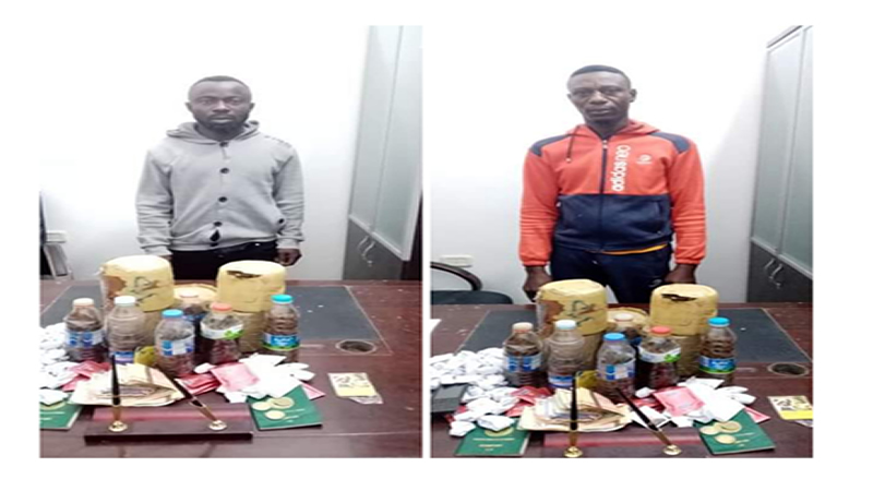 Two Nigerian nationals arrested for drug and sex trafficking in Libya
