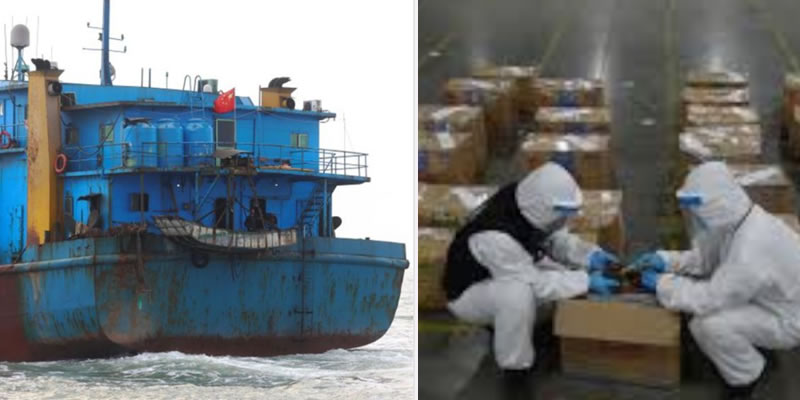 Viral report of Nigerian ship with 7,200 human penises impounded in China is false