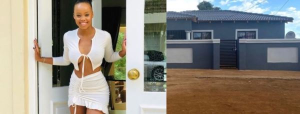 Ntando Duma excited she's almost done with her mother's house – Photos