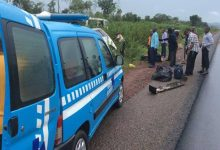 Two dead, three injured in Lagos-Ibadan expressway accident