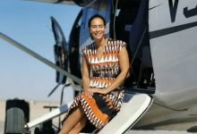 Jo-Ann Strauss and family spends quality time in Namibia