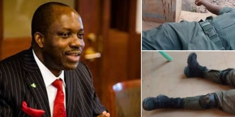BREAKING: Nine assailants who attacked Ex-CBN gov, Soludo in Anambra arrested