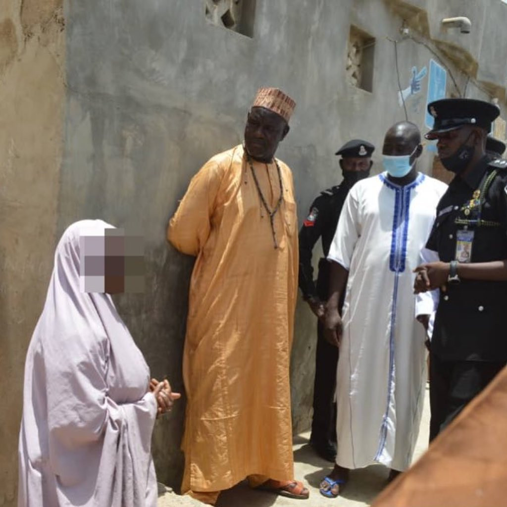 Police rescue 15 year old girl allegedly locked up in a room for 10 years by parents in Kano