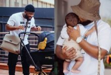 Cassper Nyovest and baby Khotso all loved-up in new post