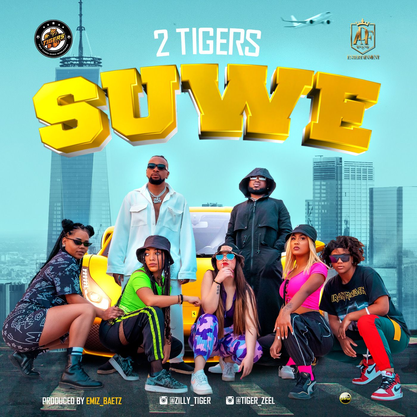 Two Tigers - Suwe