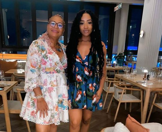 Nadia Nakai gets matching tattoo with mom as Mother(Video)