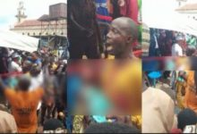 BREAKING: Protest as Makinde's convoy allegedly kills toddler in Ogbomoso