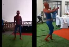 5 times SA Spider Man served stunning local dance moves