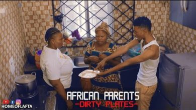 AFRICAN PARENT - THE DIRTY PLATE