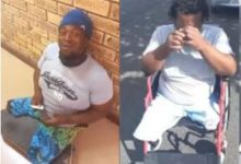 BI Phakathi helps desperate disabled man with a wheelchair – Video