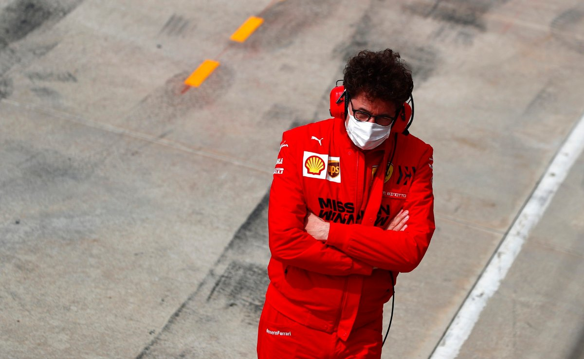 Binotto Sheds Light on Mission Winnows' Future With Ferrari F1 After French GP Removal