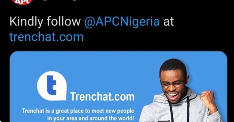 APC support group ignores FG's suspension to tweet alternative to Twitter
