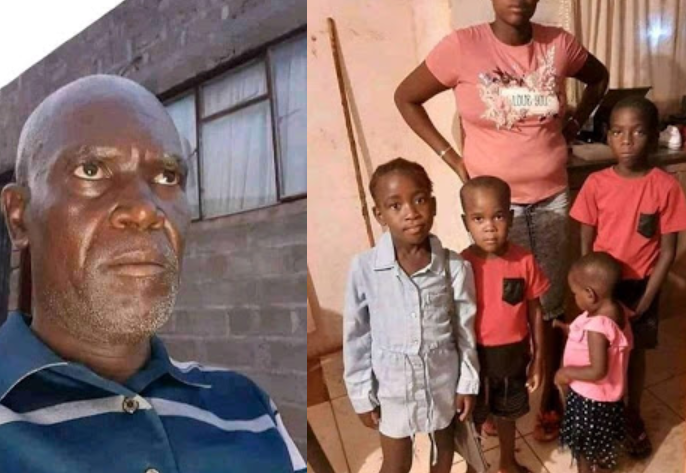 Jealous South African Husband Who Brutally Murdered His 4 Kids Bags Four Life Sentences