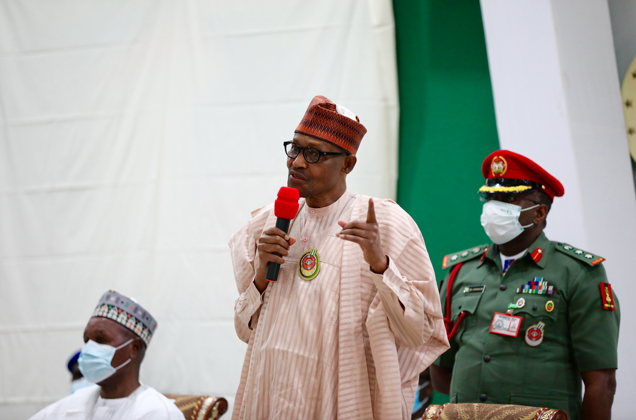 Why I want APC to remain in power for long time – Buhari