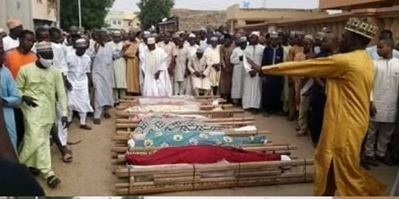 Photos: 17 young men die in fatal accident while returning from friend's wedding in Kaduna