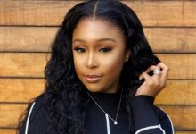 Minnie Dlamini flaunts new office space for new project