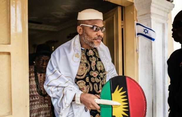Nnamdi Kanu reveals why he rejected Biafra of only South-East Igbo states