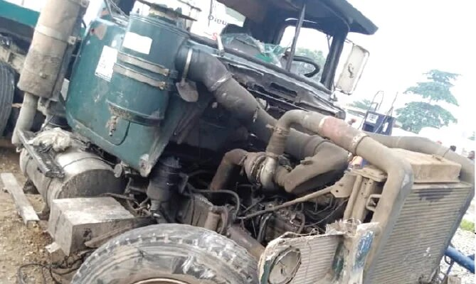 Eight feared killed, many injured as truck rams into motorcycles in Lagos