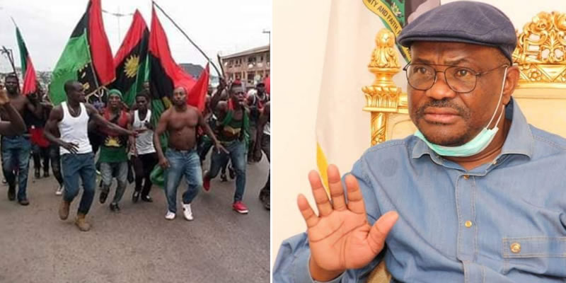 IPOB: Any Governor who wants to kill his people over a cause will be haunted down – Biafra group warns Wike