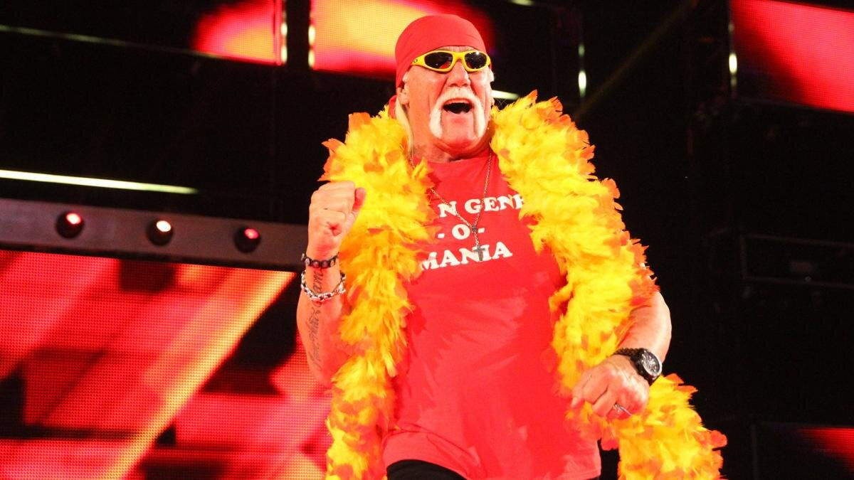 WATCH: When Hulk Hogan Tapped Out to Kurt Angle's Iconic Submission in an All Time Classic Encounter