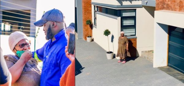 Man surprises mom with a new home (Photos)