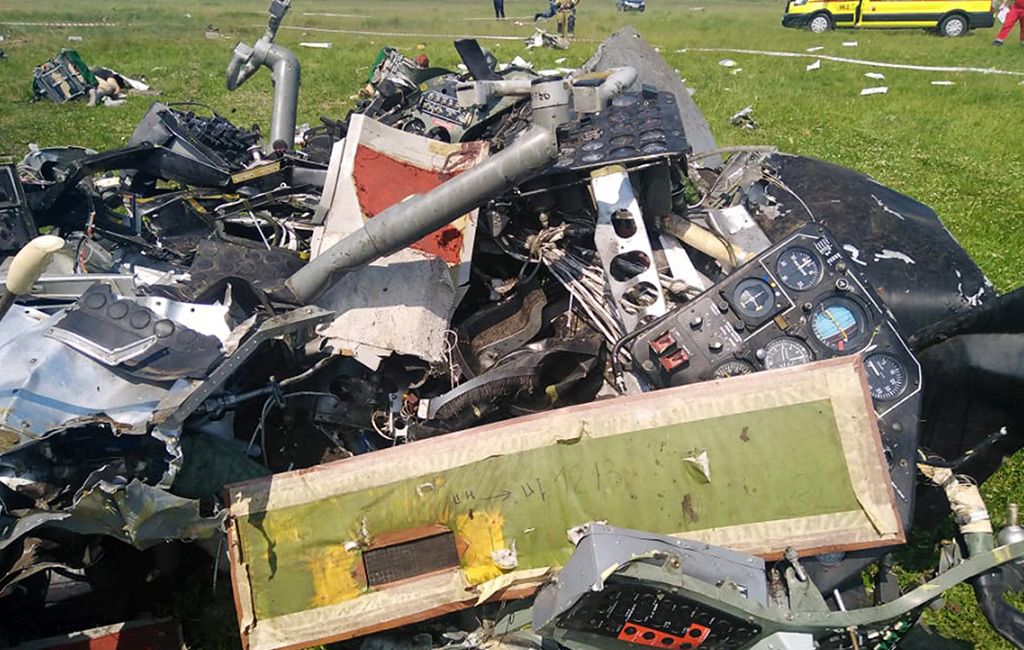 Four dead, others injured as plane crashes in Siberia, Russia