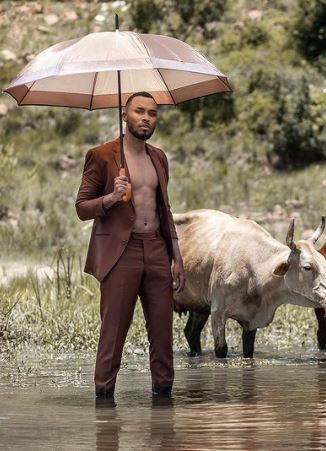 Zulu Mkhathini releases official cover artwork for debut album to celebrate birthday
