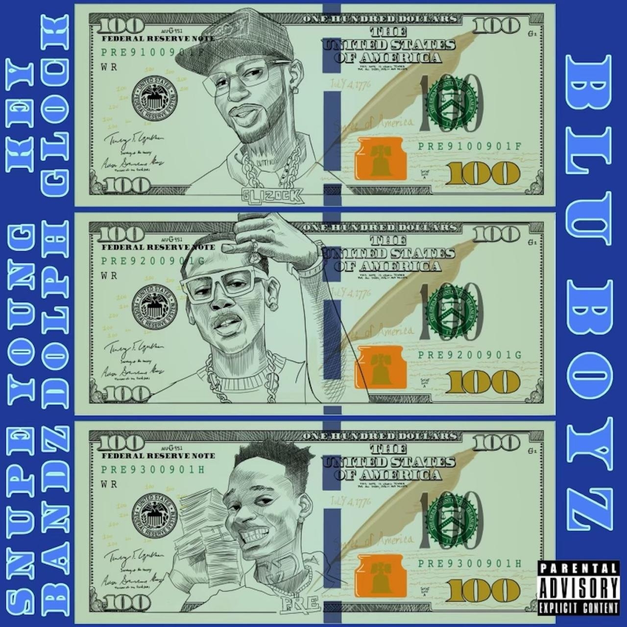 Young Dolph Ft. Snupe Bandz & Key Glock & Paper Route EMPIRE - Blu Boyz