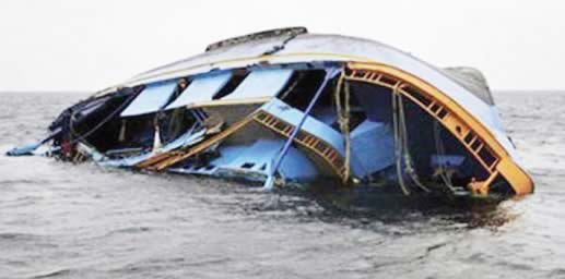 Boat with five passengers capsizes in Lagos