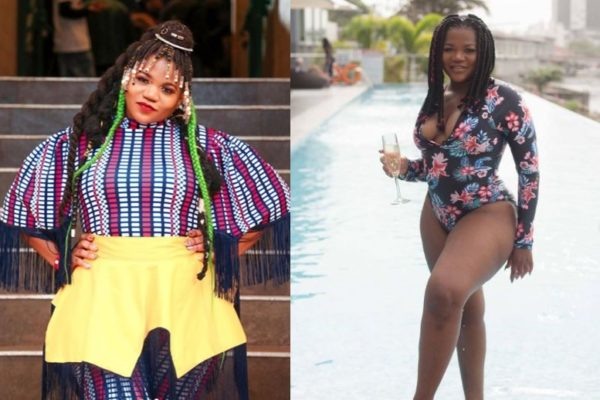 Busiswa inspires fans with weight loss story | From 101kg – 78kg in 3 years