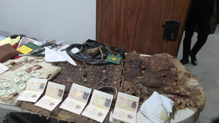 BREAKING: DSS confirms raid on Sunday Igboho's house, recover exhibits (PHOTOS)