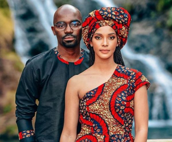 Inside Dr Musa Mthombeni and Liesl Laurie traditional wedding (Photos)