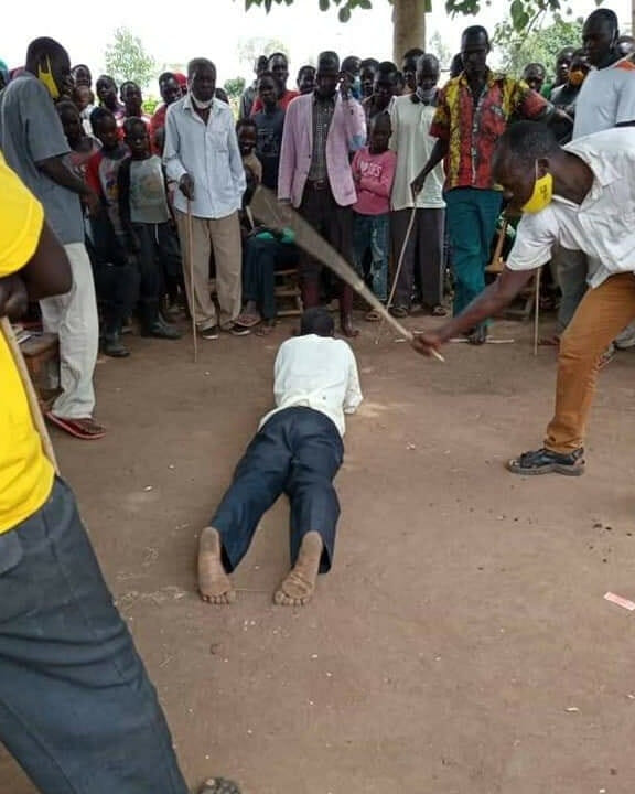 63-year-old man publicly flogged, fined goat for attempting to sleep with his daughter-in-law