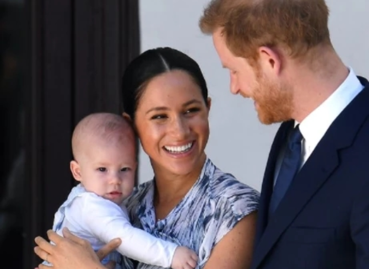 Harry and Meghan Markle receive charity award for 'enlightened decision' to only have two kids