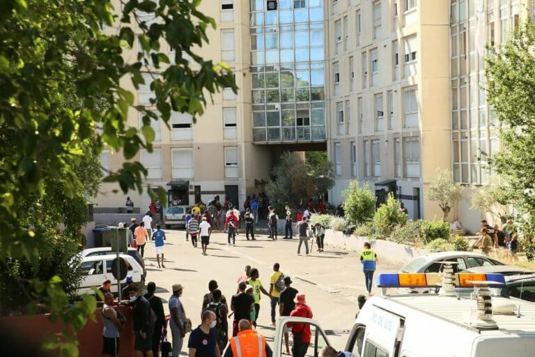 Video: Three Nigerian migrants die after jumping from windows of 10-storey building to escape fire in France