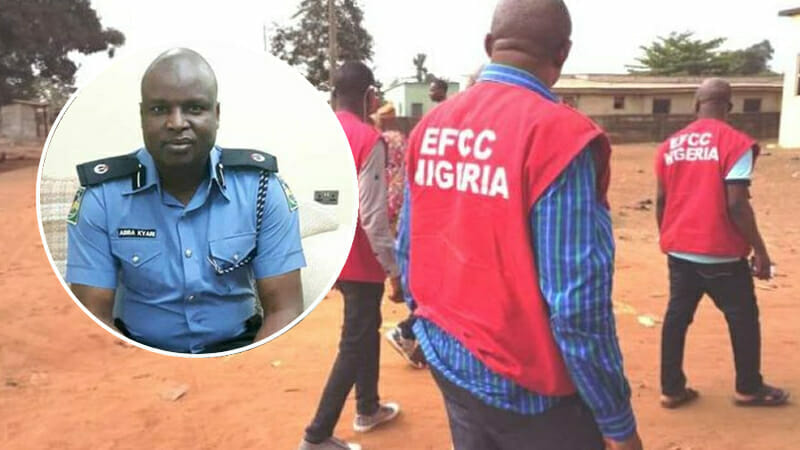 EFCC Breaks Silence On Why They Can't Arrest Abba Kyari Despite FBI's Request