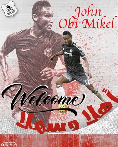 JUST IN: Mikel dumps Stoke City for Kuwaiti giants