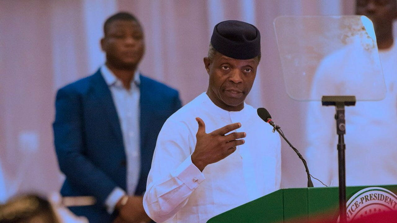 Why leaders must remain calm during crisis – Osinbajo