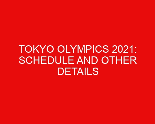 Tokyo Olympics 2021: Schedule and Other Details for Shooting Sports