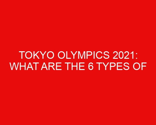 Tokyo Olympics 2021: What are the 6 Types of Gymnastics?
