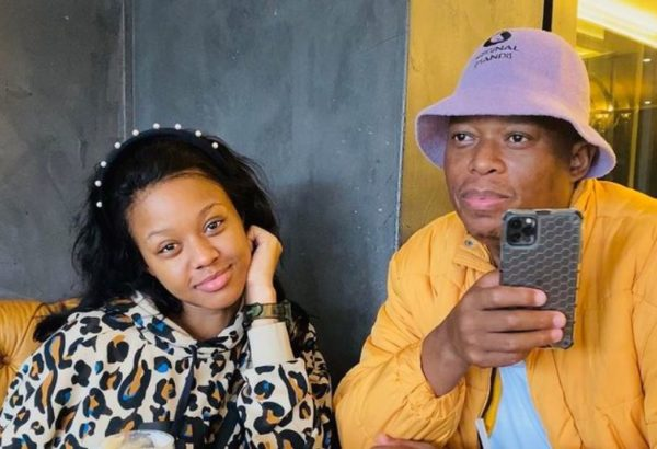 Mampintsha and Babes Wodumo mourn brother's passing