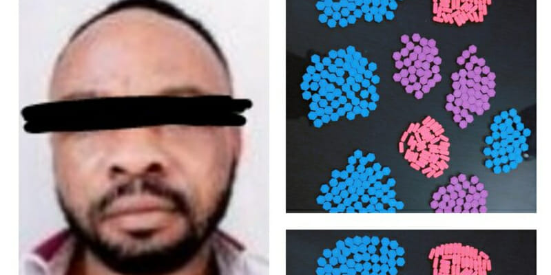 Suspected Nigerian drug peddler arrested with 400 ecstasy pills worth over N8m in India