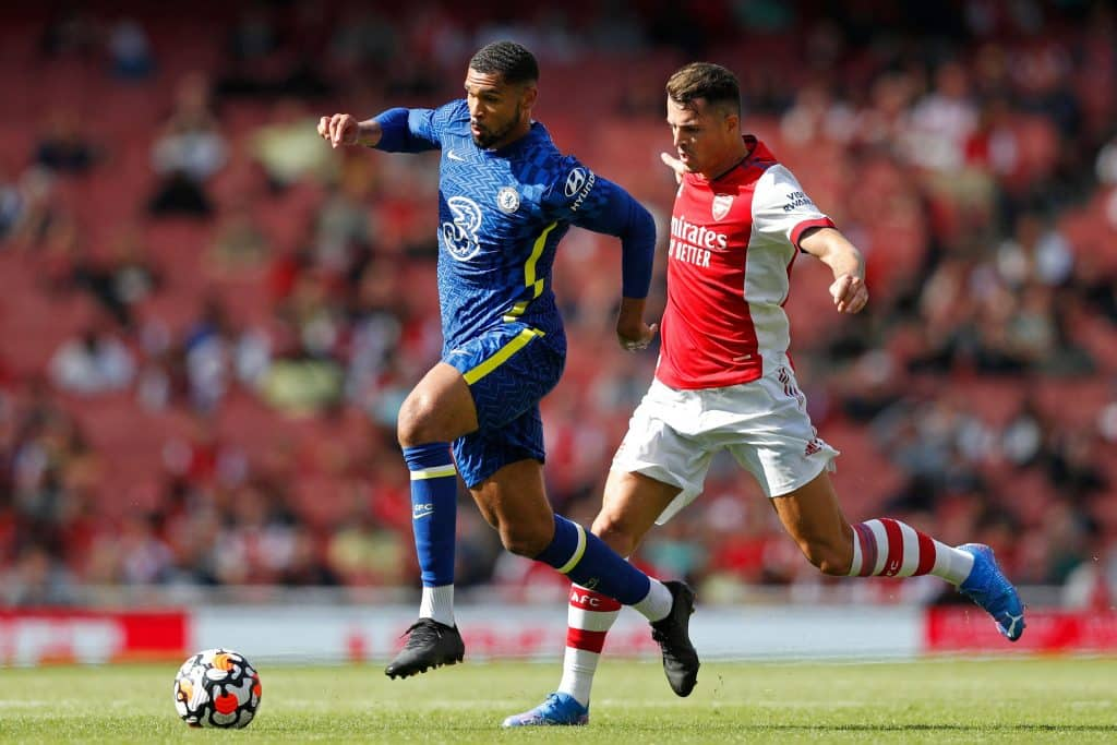 Granit Xhaka signs new four-year Arsenal deal following summer of Roma links