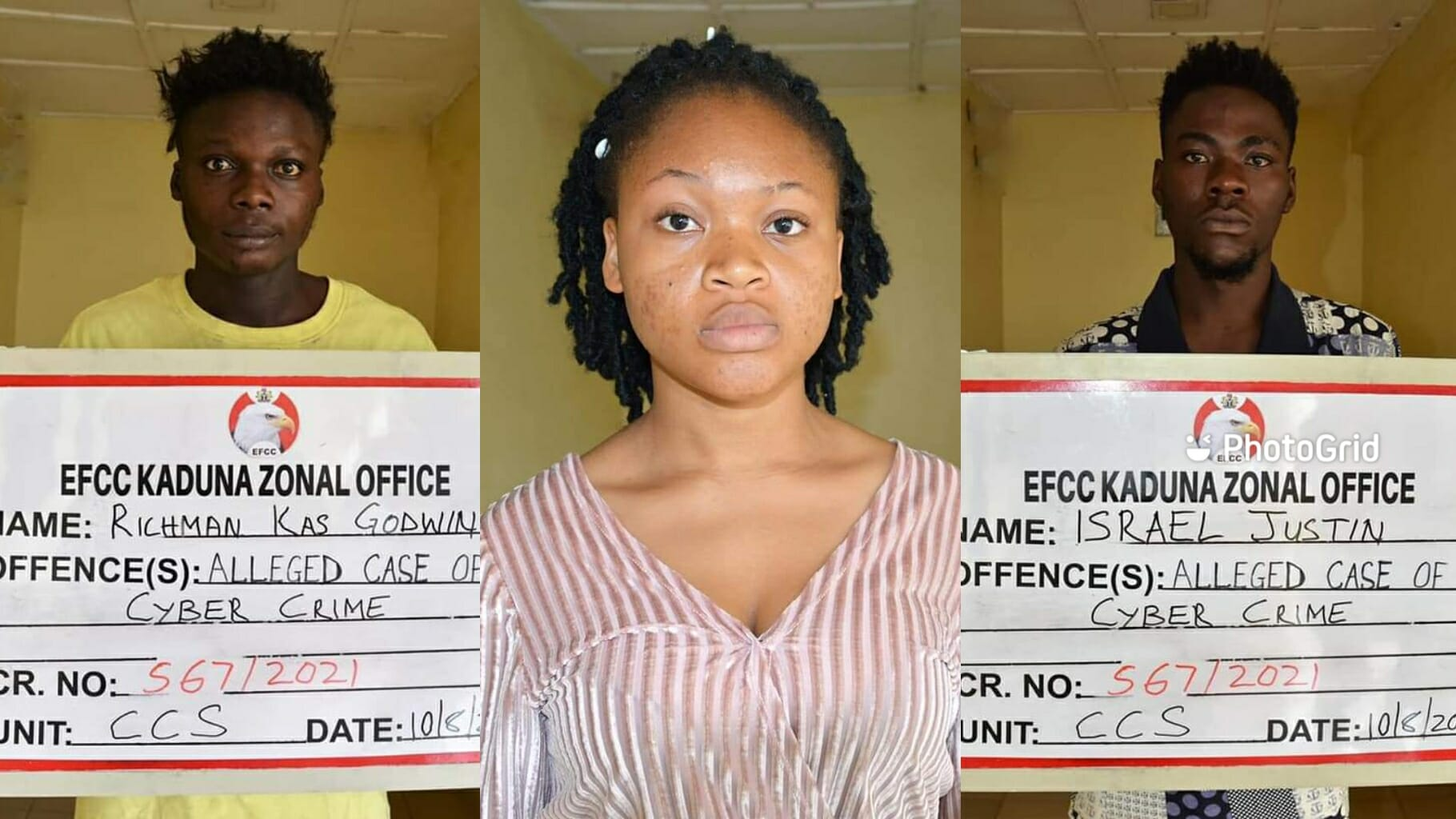 EFCC arrests son, mother, 2 others for internet fraud in Kaduna